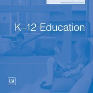 K–12 Education - IBI Group