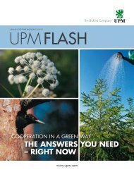 The answers you need – righT now - UPM Paper