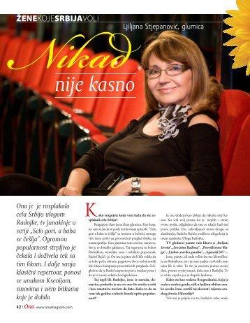 Ljiljana Stjepanovic - Magazin