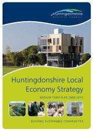 Huntingdonshire Local Economy Strategy 2008 - 2015