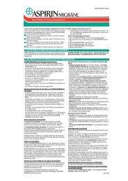 Brausetabletten mit 500 mg Acetylsalicylsäure - Aspirin
