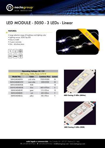 Led Module 3LED - Necto Group