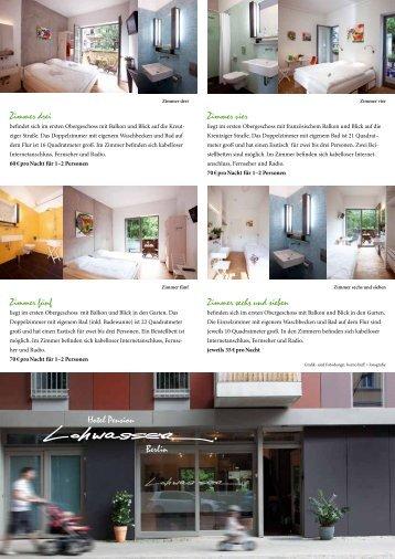 prospekt - Hotel Lohwasser