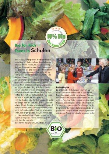 Schulen+KiTa RZ Satz - Schule + Essen = Note 1