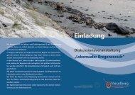 """""""Lebensader Bregenzerach"""" Einladung - bregenzerwald-news.at"""
