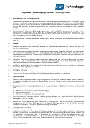 PDF herunterladen (76 KB) - BWS Technologie GmbH