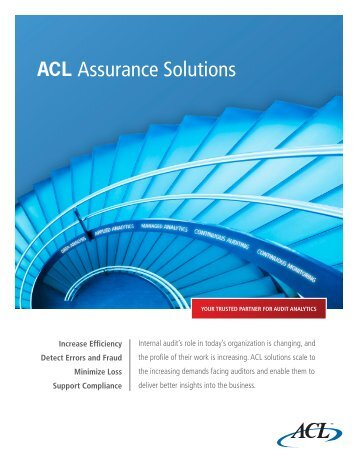 ACL Assurance Solutions - Acl.com