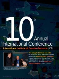 Conference Highlights - International Policy Institute for Counter ...