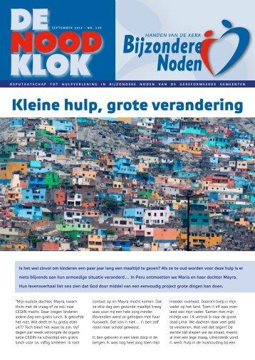 september 2012 - Bijzondere Noden