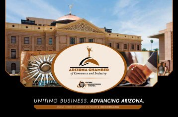 2013 Business Agenda - Arizona Chamber of Commerce