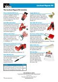 Lockout/Tagout (LOTO) Kit - Page 2
