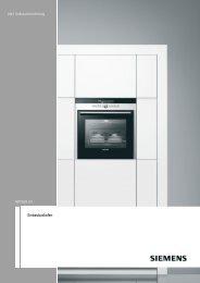 [de] Gebrauchsanleitung HB73GB.50 ... - Moebelplus GmbH