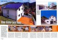 Ohne Keller kein Haus - Bauen am Steilhang