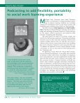 FALL 2006 NEWS - School of Social Work - Michigan State University - Page 6
