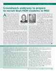 Fall 2007 News - School of Social Work - Michigan State University - Page 5