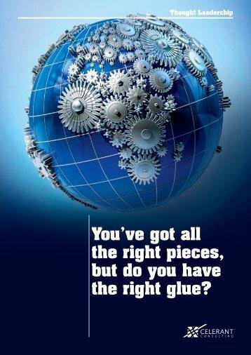 Right Glue - Celerant Consulting