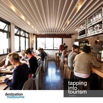 tapping into tourism - Destination Melbourne
