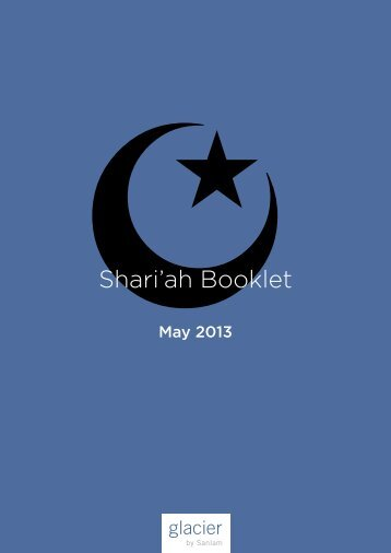 Shari'ah Booklet - current issue