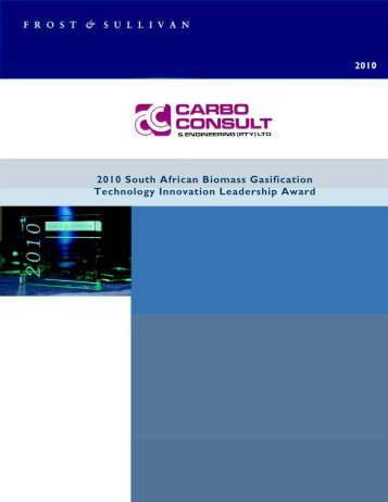 Carbo Consult & Engineering - F & S 2010 AWARD