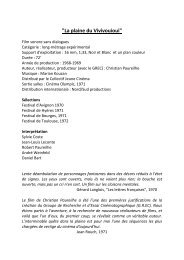 Catalogue de Nord Sud productions 2011 - L'ARP