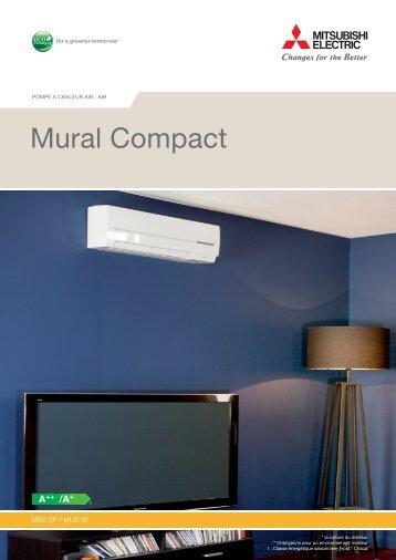 Mural compact MSZ SFD Mitsubishi Electric - Climatic'Elec