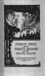 FOREST TREES - ScholarsArchive at Oregon State University