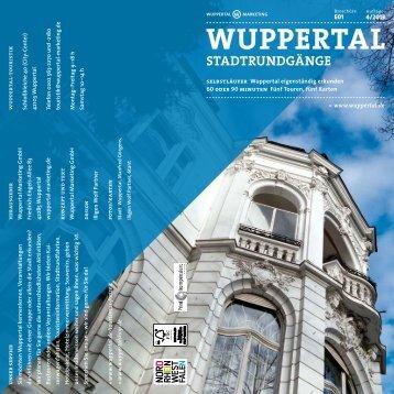 Stadrundgänge - auf eigene Faust - Stadt Wuppertal