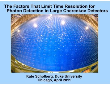 The Factors That Limit Time Resolution for Photon Detection in ...