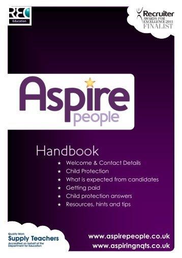 Handbook - Aspire People