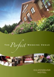 The Perfect Wedding Venue - The Gilvenbank Hotel