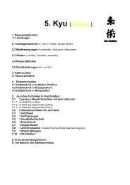 JJ Prüfungsprogramm 1 - OSC Bremerhaven