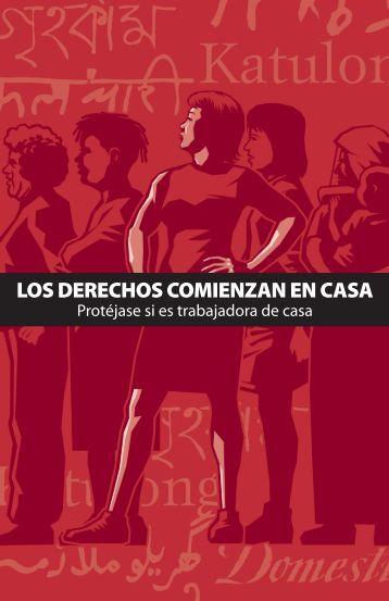 LOS DERECHOS COMIENZAN EN CASA