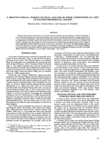 an analysis of fossil Computer-integrated polarisation (cip) method has been applied satisfactorily in  the study of fossils skeletons of sinopora (tabulate coral, auloporida and.
