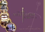 Download McWilliam Park Hotel PDF Brochure here.