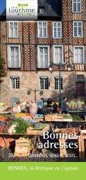 Bonnes adresses - Office de Tourisme de Rennes Métropole