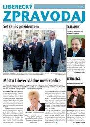 Zpravodaj 2011, číslo 5 - Statutární město Liberec
