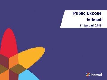 Public Expose 2013 Insidentil - Indosat