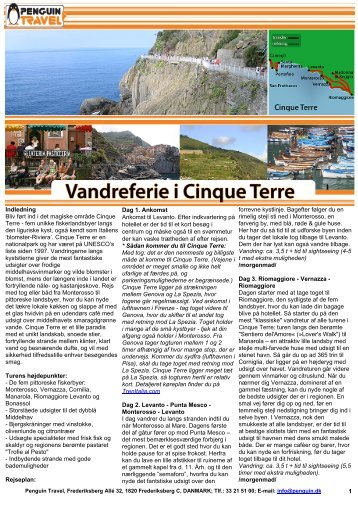 Hent den detaljerede turbeskrivelse i Adobe pdf ... - Penguin Travel