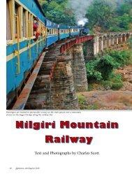Nilgiri Mountain Railway Nilgiri Mountain Railway - American ...