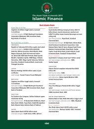 Islamic Finance - The Asset