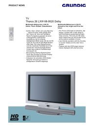 TV Tharus 26 LXW 68-9520 Dolby
