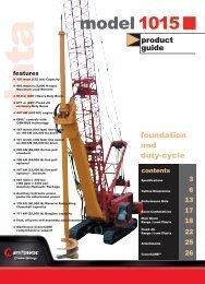 model 1015 - Manitowoc Cranes