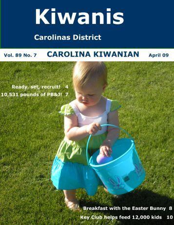April 2009 - Carolinas District Kiwanis