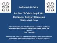 Intervenciones - Instituto Nacional de Geriatría