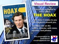 THE HOAX - Visual Hollywood