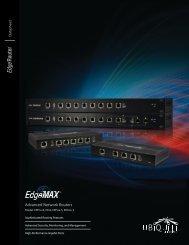 EdgeRouter™ Datasheet - Ubiquiti Networks