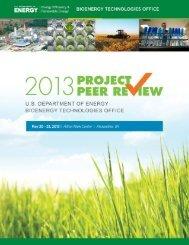 Peer Review Agenda - EERE - U.S. Department of Energy
