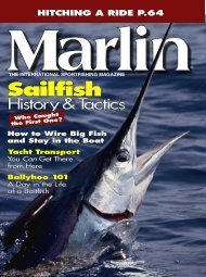 Marlin article, April 2005, Hitching a Ride - Dockwise Yacht Transport