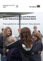 Sekundarstufe I - Planungshilfe 2012 - Kanton Zürich