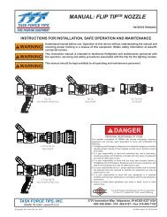 Flip Tip Nozzle - Task Force Tips
